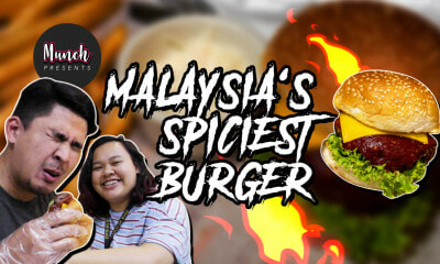 Malaysians Try The Spiciest Burger in Malaysia! - Munch by WORLD OF BUZZ