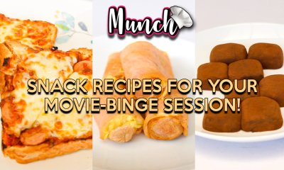 Snack Recipes For Your Movie-Binge Session! - Munch by WORLD OF BUZZ