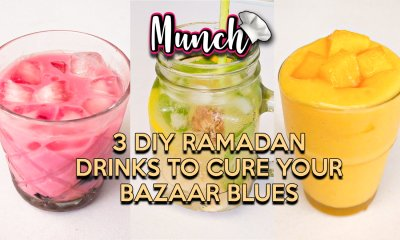 3 DIY Ramadan Drinks To Cure Your Bazaar Blues - Munch by WORLD OF BUZZ