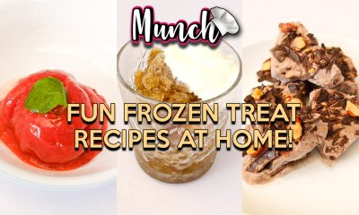 Fun Frozen Treat Recipes At Home! - Munch by WORLD OF BUZZ